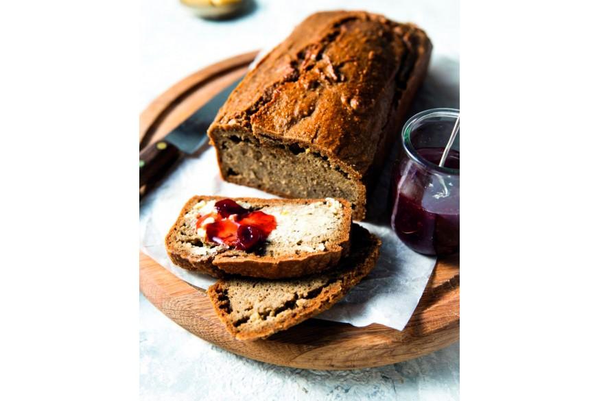 Pão proteico sem farinha