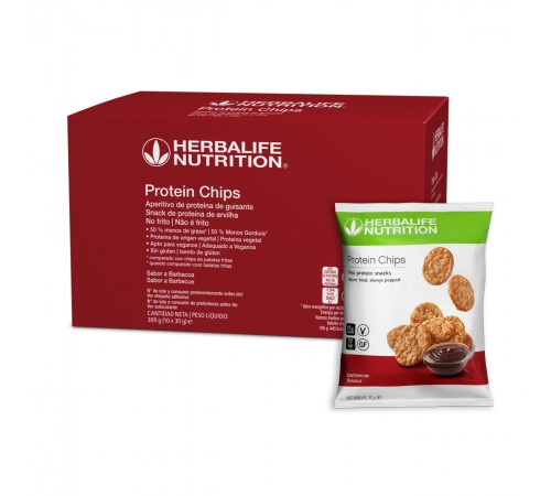 Protein Chips Sabor a Barbecue 10x30g