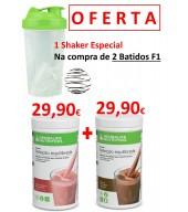 OFERTA de 1 SHAKER ESPECIAL no Pack 2 Batidos Herbalife Nutrition
