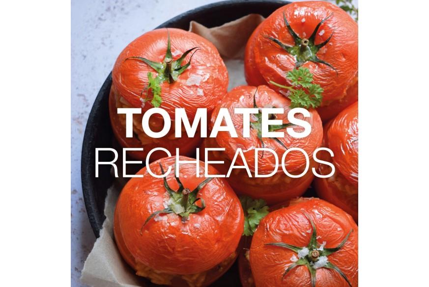 Tomates Recheados com F1 Cogumelos e Ervas Aromáticas