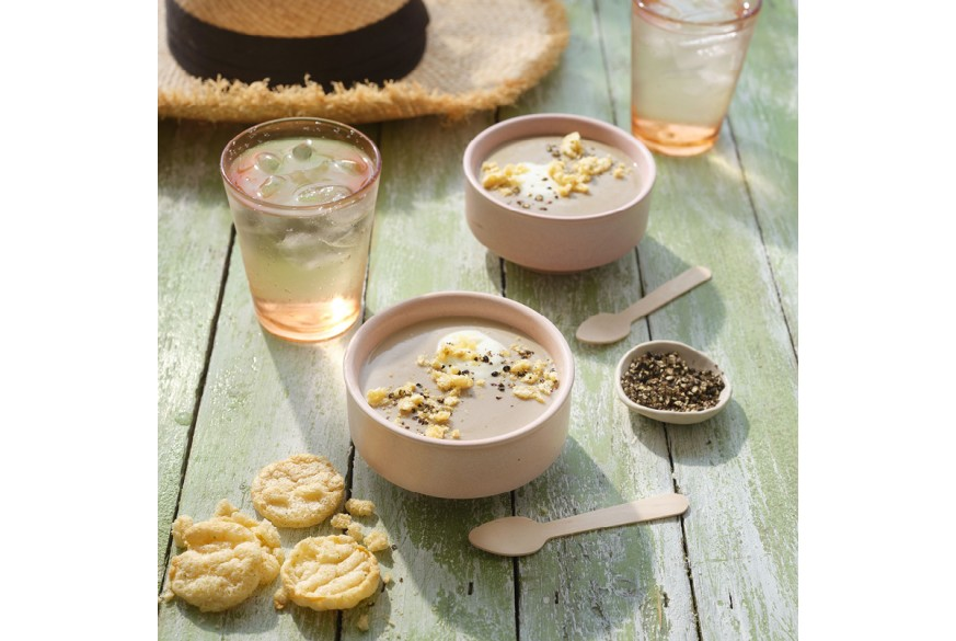 Sopa Fria de Cogumelos