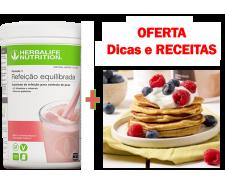 NOVO F1 Framboesa e Chocolate Branco (Sem Soja, Lactose e Glúten) com OFERTA de Dicas e Receitas