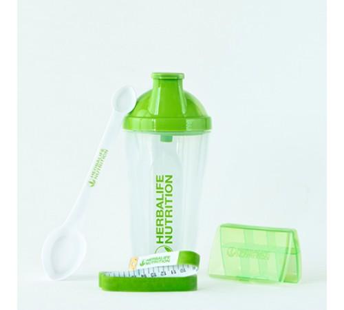 Kit Essencial: shaker, colher, fita, pastilheiro