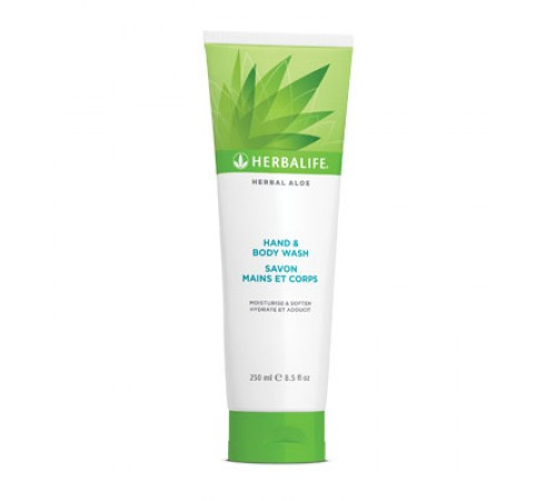 Herbal Aloé - Gel de Banho para Mãos e Corpo