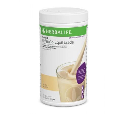 Fórmula1 Herbalife Sem Soja, Lactose e Glúten – Baunilha (550g embalagem)